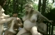 Pregnant ladies fucked outdoors