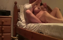 Big boobed pregnant wife fucked and filmed