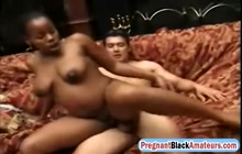Black Big Tit Slut Rides Cock