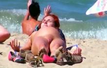 Spy Cam On The Beach