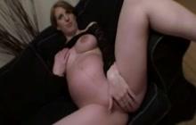 Hot ass preggo girl POV fucked